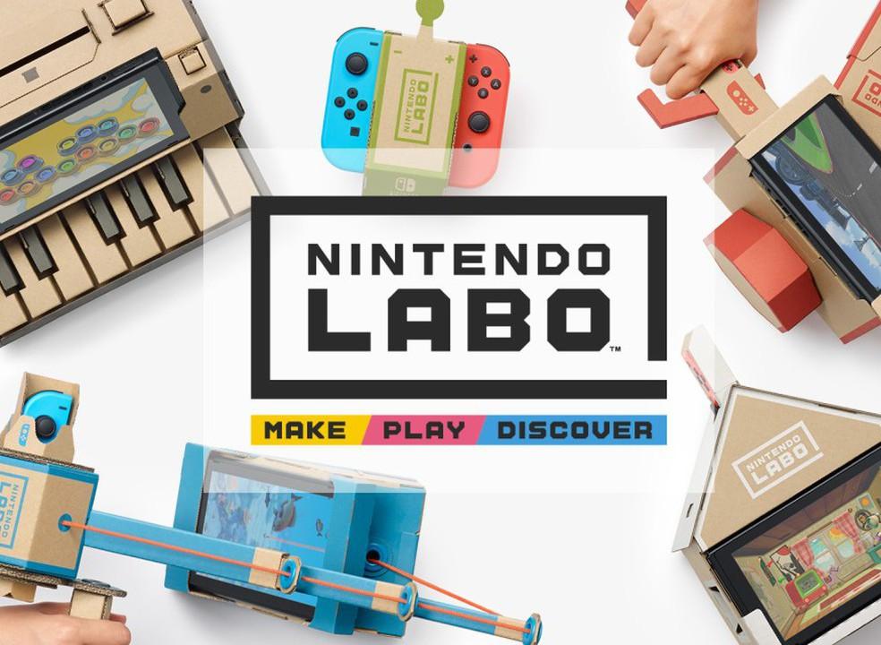 """Nintendo revela novo kit de acessórios """"faça você mesmo"""" para a Switch"""