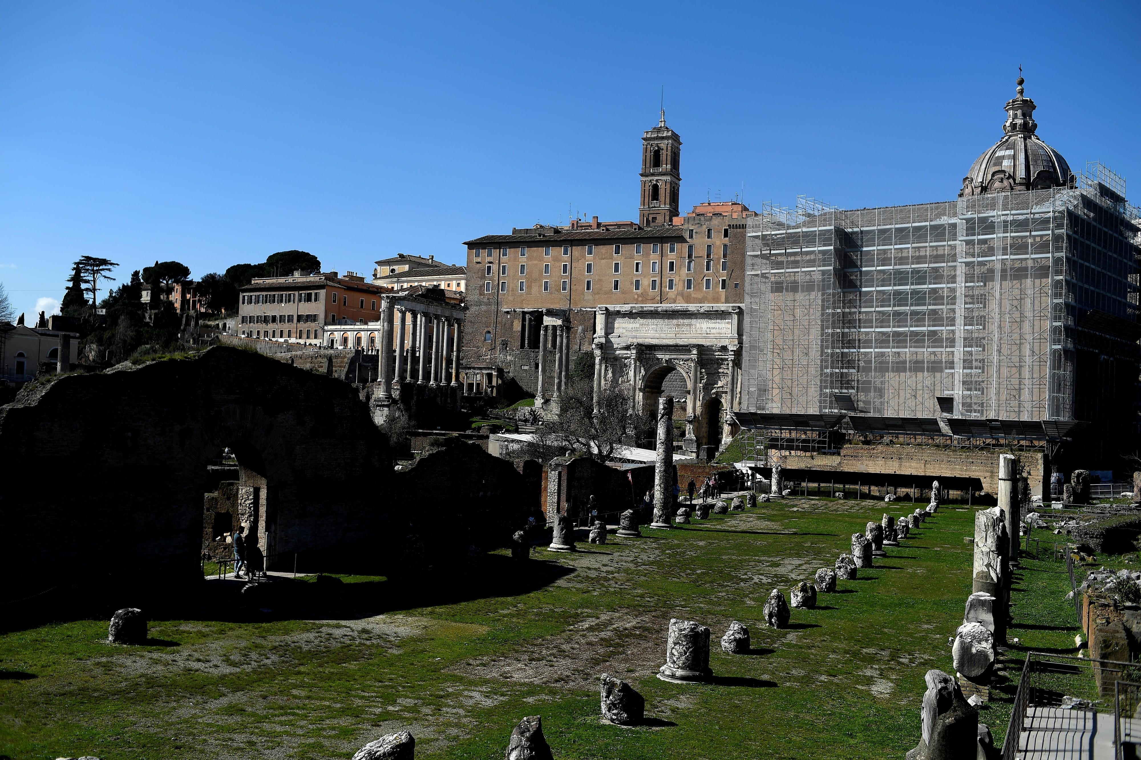 Arqueólogos apresentam o que pode ser o túmulo de Rómulo, rei fundador de Roma