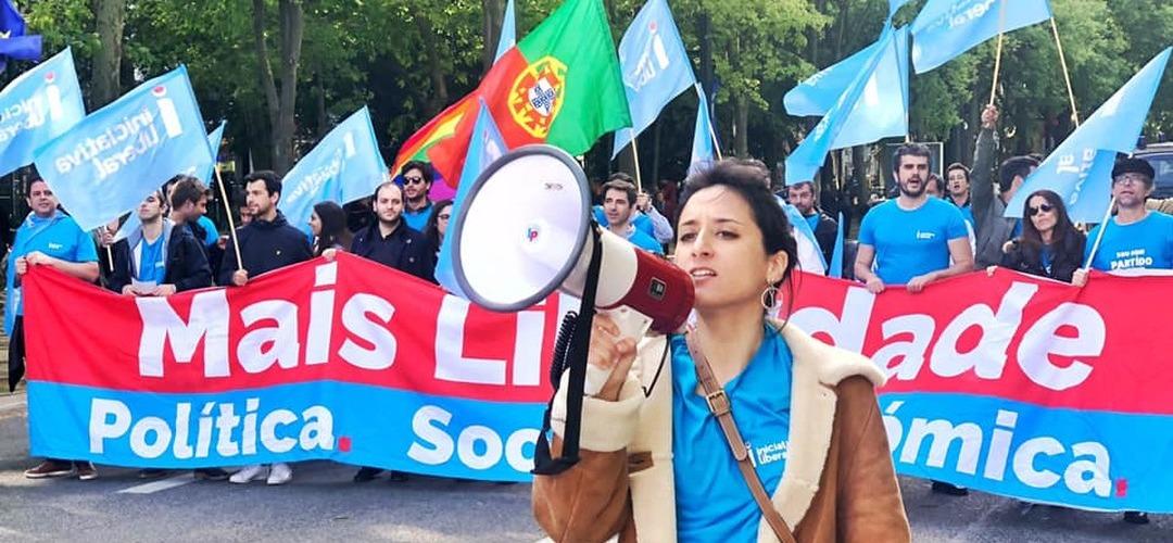 Iniciativa Liberal diz ter sido excluída do desfile do 25 de Abril e mantém intenção de descer Avenida da Liberdade