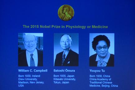 Nobel da Medicina 2015