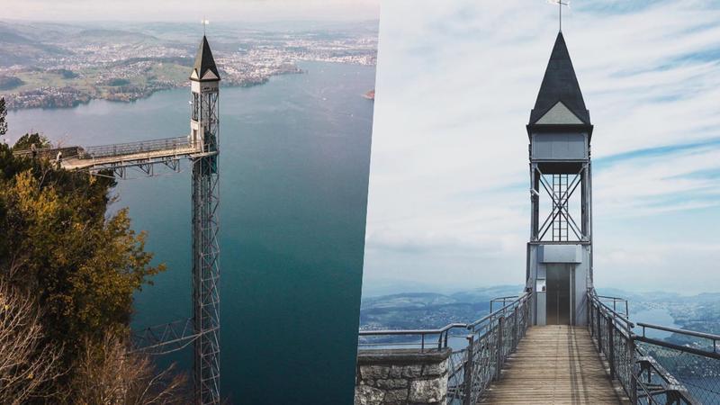 Suba às nuvens neste elevador ao ar livre de tirar o fôlego. É o mais alto da Europa