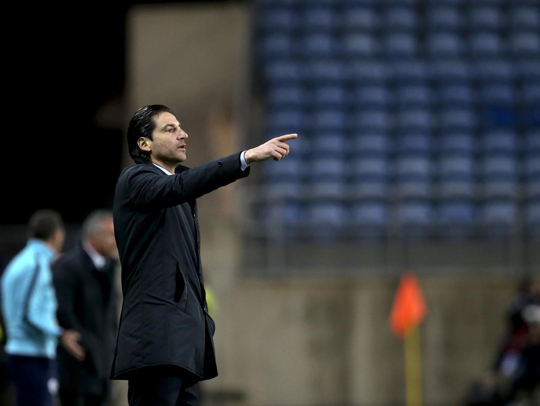 """I Liga: Jorge Simão assume """"alguma pressão"""" mas confia em triunfo em Setúbal"""