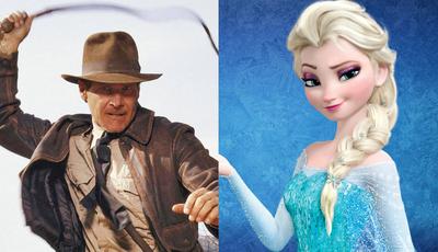 """Novo Indiana Jones e """"Frozen 2"""" já têm data de estreia"""