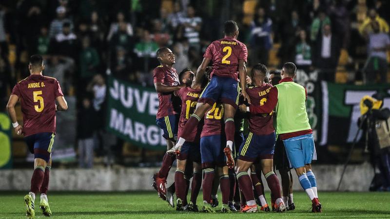 Taça de Portugal: Tombou! Contra o Sporting, quem dançou o fandango foi o Alverca