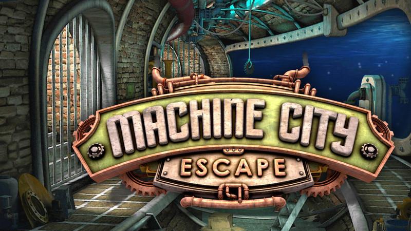 Escape Machine City: puzzles complexos no mundo das máquinas
