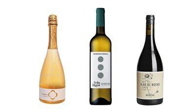 Três vinhos de qualidade do Dão, Douro e Alentejo