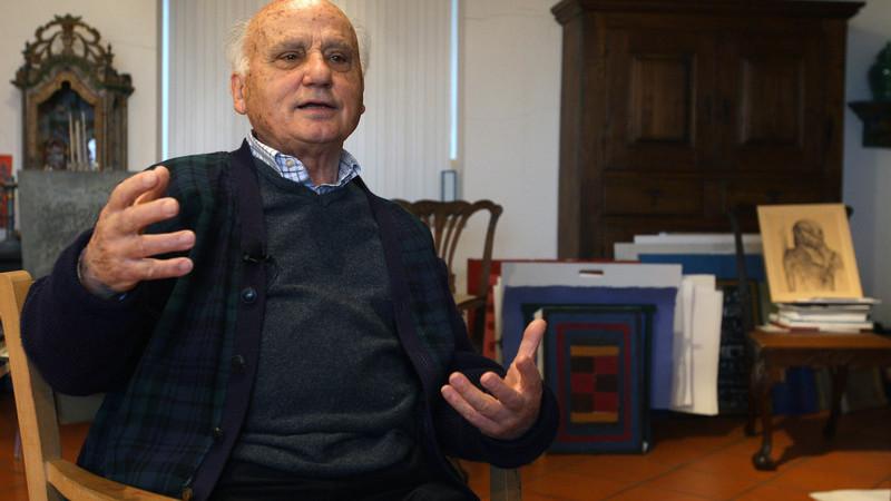 Artista Manuel Cargaleiro vai ser duplamente homenageado em Paris