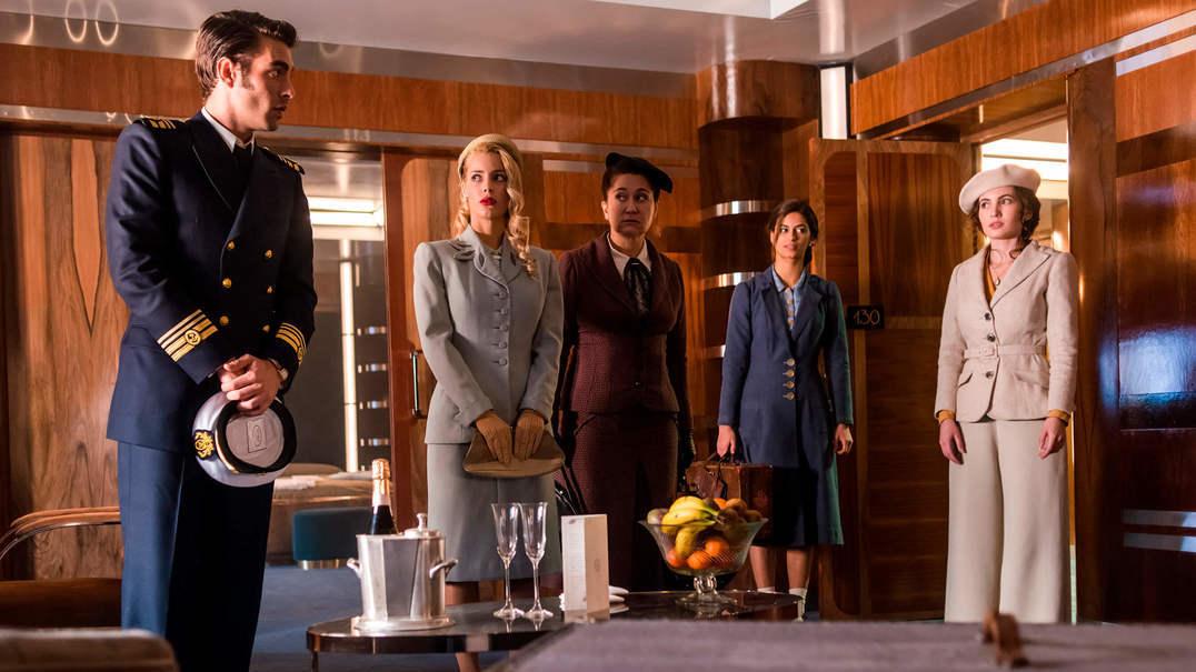 """Visita aos bastidores de """"Alta Mar"""": a bordo do navio da nova série da Netflix"""