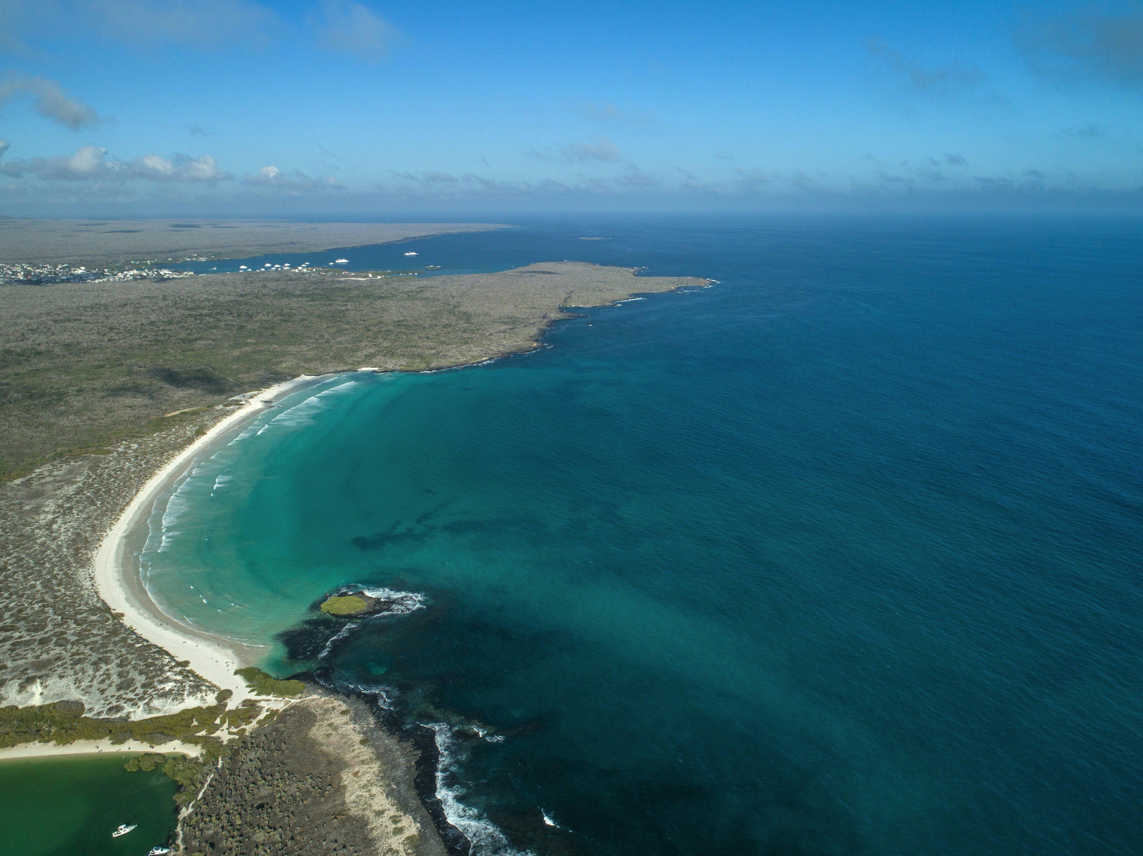 Plástico ameaça vida no paraíso de Galápagos
