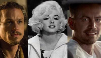 Cinema: 25 estrelas que deixaram trabalhos por acabar