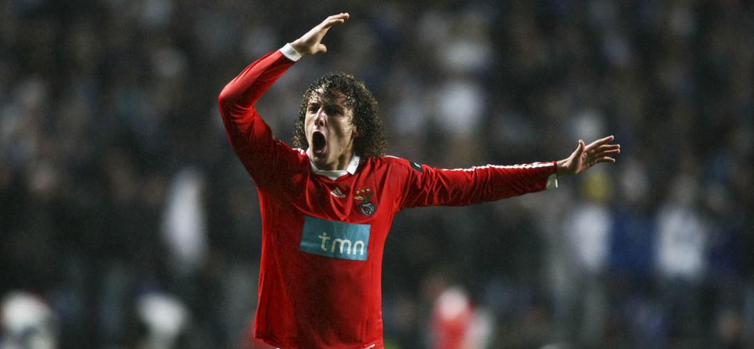 """David Luiz e a mudança para o Benfica: """"A minha vida mudou de zero para 10 em Lisboa"""""""