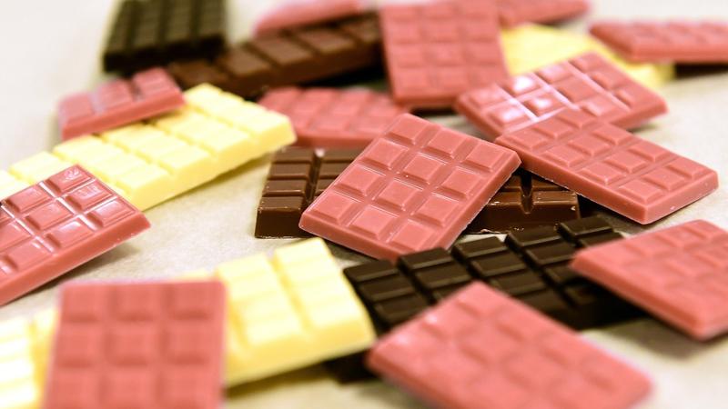 Chocolate rosa: processo da nova cor desta iguaria é mantido em segredo