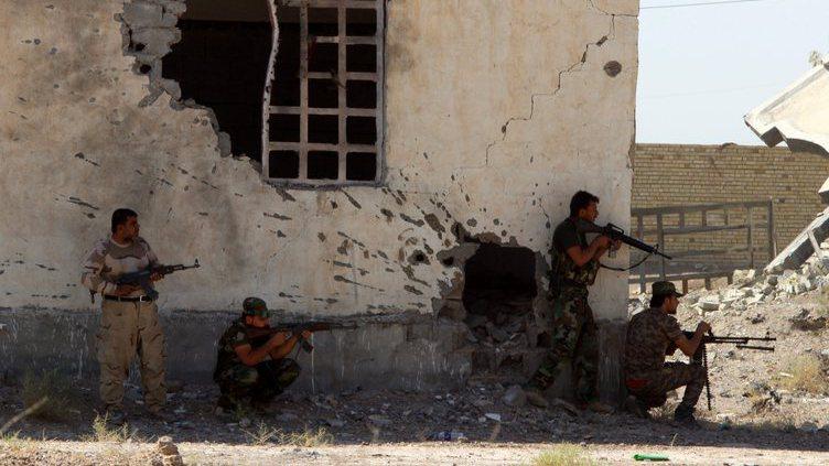 Guerra contra Estado Islâmico em Fallujah, Iraque