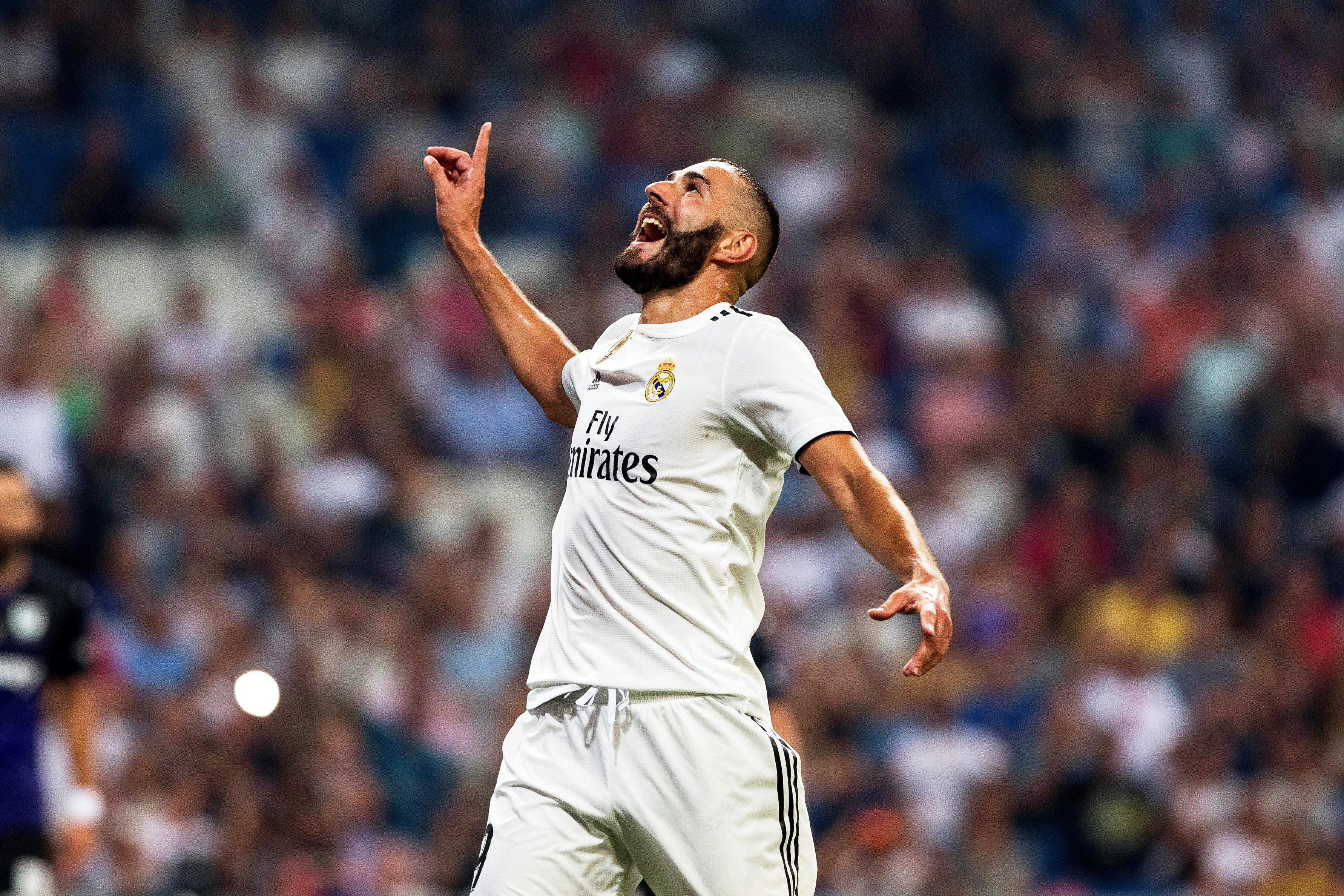 Golo de Benzema dá vitória ao Real Madrid e subida provisória ao terceiro lugar