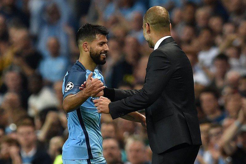 Guardiola elogia Aguero e lembra os golos marcados pelo argentino