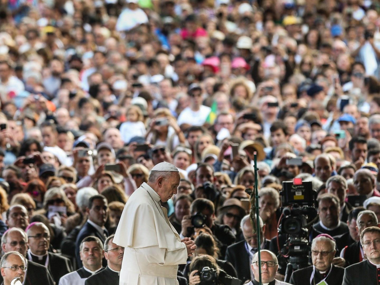 """Papa Francisco exorta comunicação social a optar pela """"boa notícia"""""""
