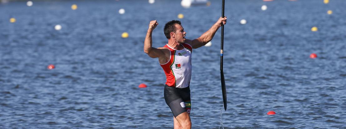 Fernando Pimenta nas meias-finais do Mundial de canoagem K1 1000