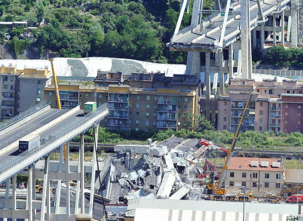 Governo italiano sabia que a ponte Morandi estava instável