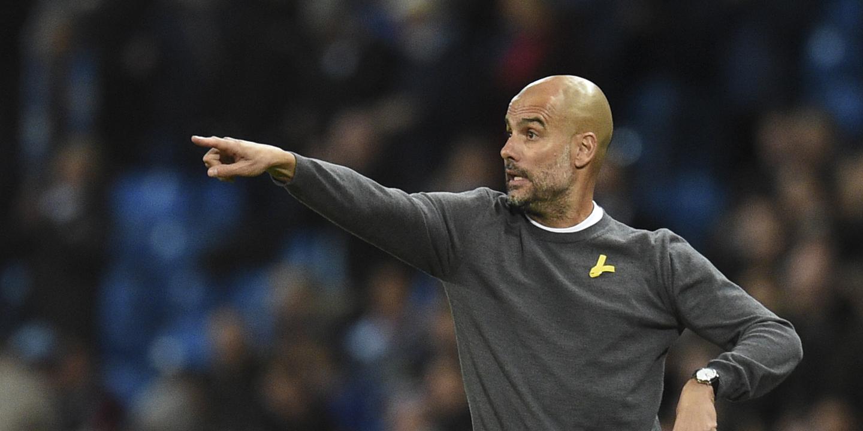 Guardiola nomeado melhor treinador do mês da Premier League