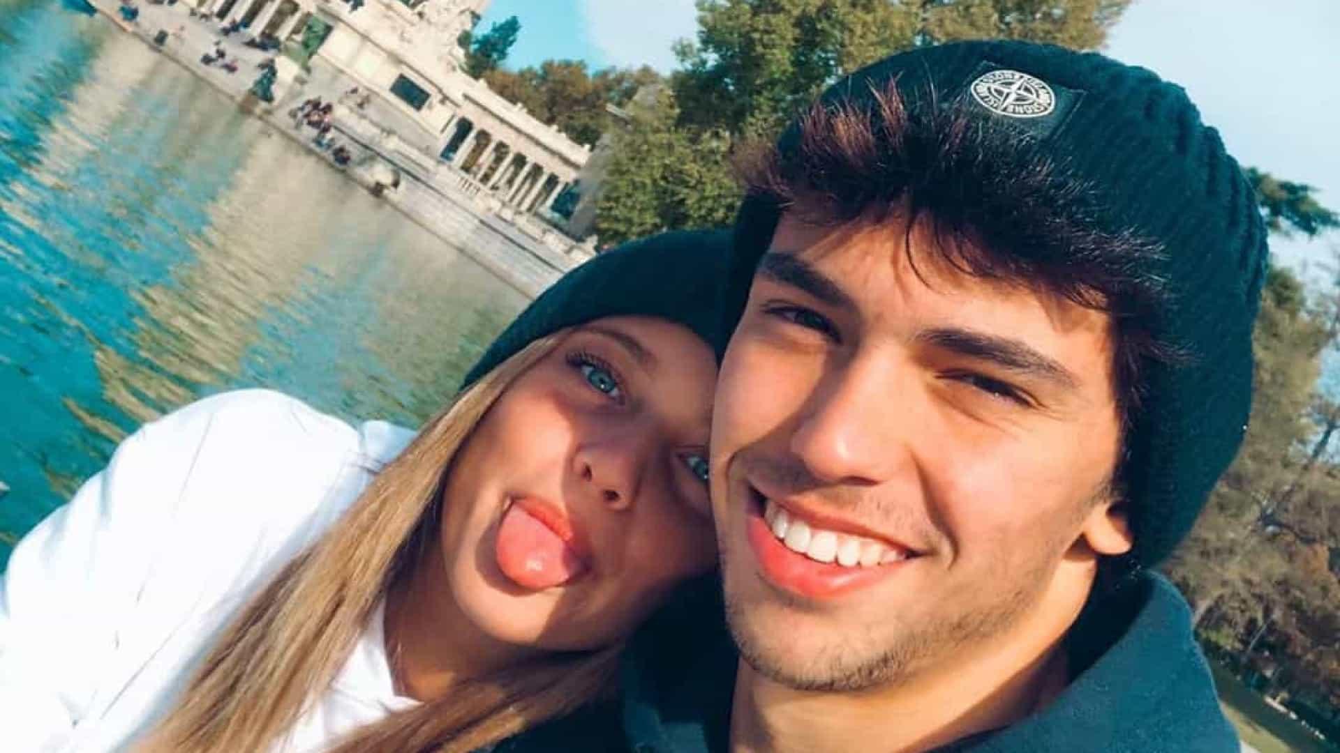 """João Félix reage a foto sedutora da namorada: """"Estás a abusar"""""""