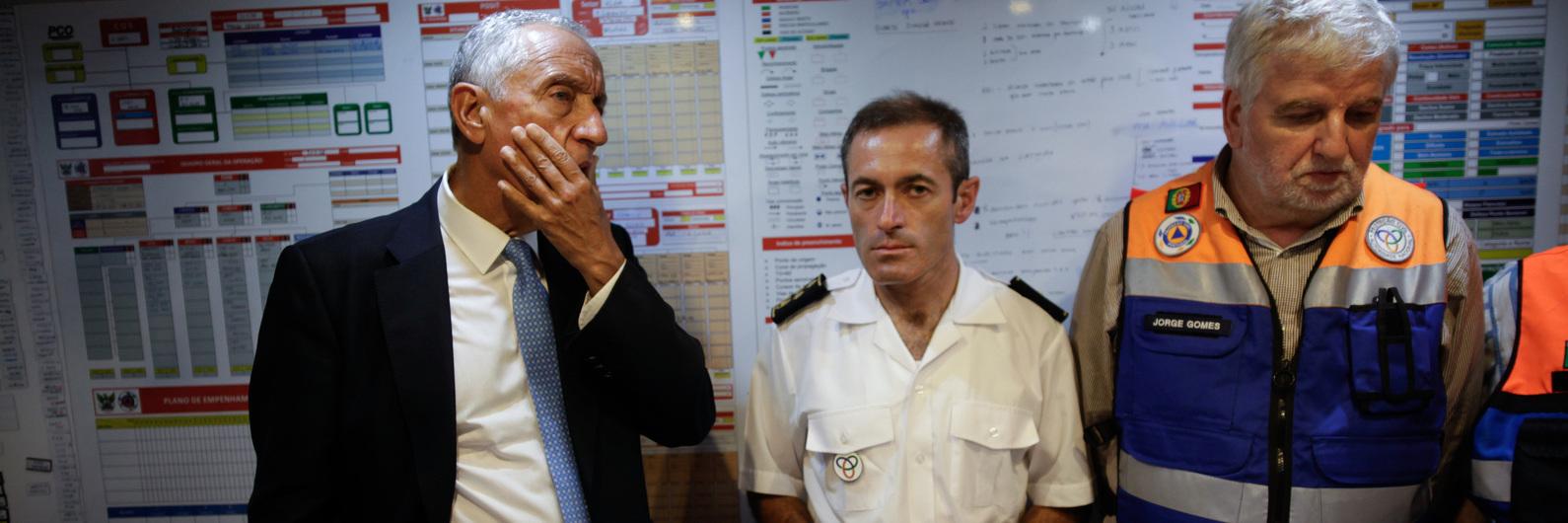 Pedrógão Grande: Marcelo espera em breve resultado de investigação e recusa antecipar juízo