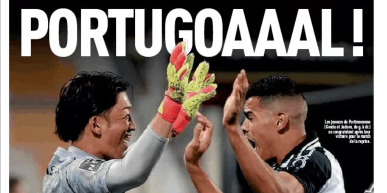 """""""Portugoaaal!"""". Quando um Portimonense - Gil Vicente faz a primeira página do L'Équipe"""