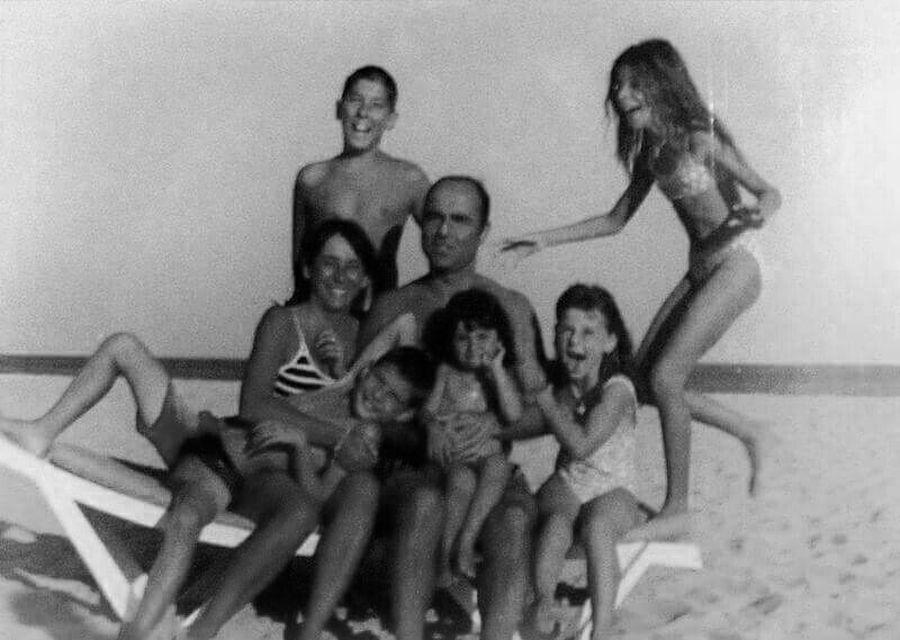 Virgínia e família