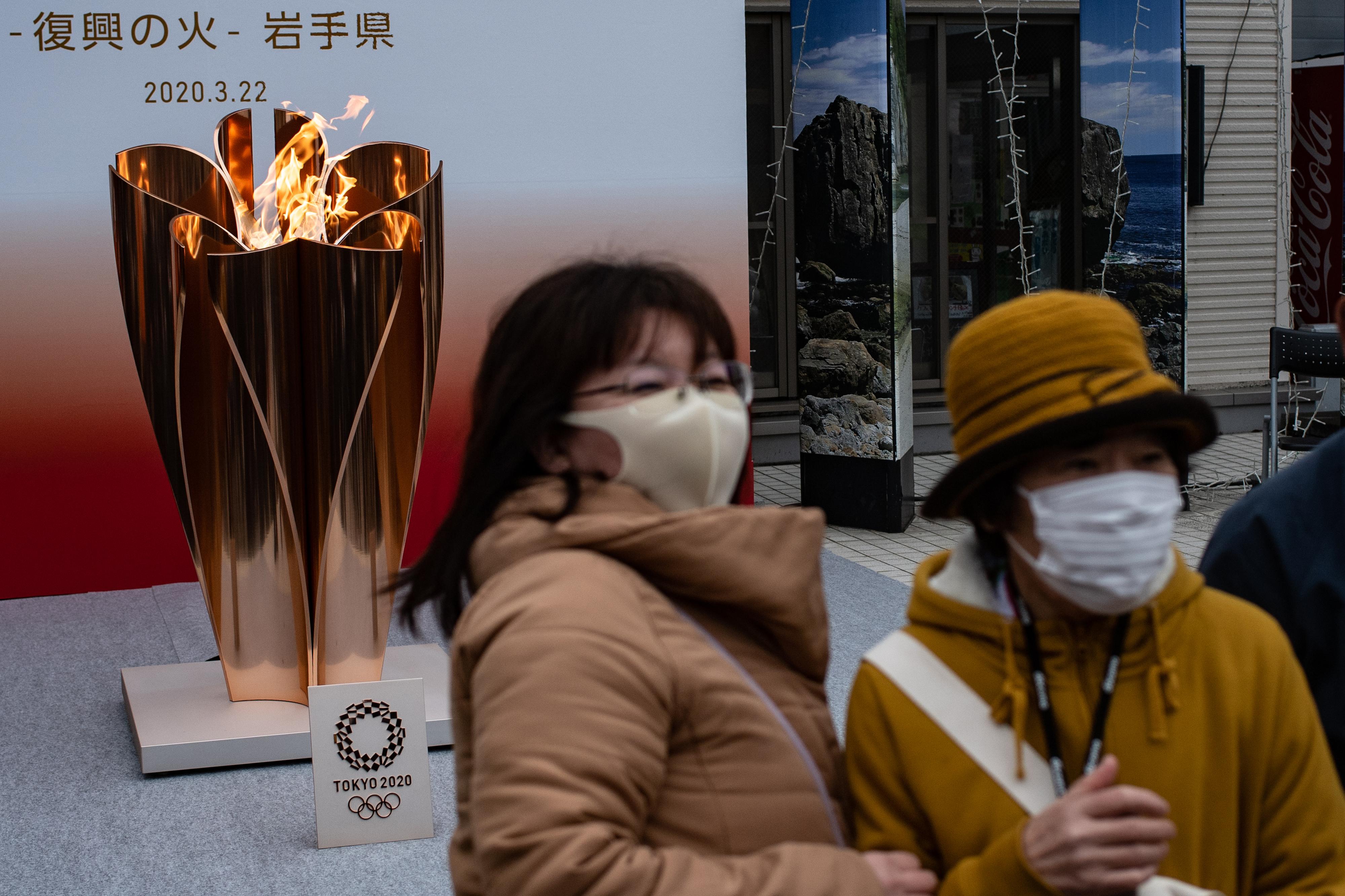 Chama olímpica deixa de estar exposta ao público em Fukushima