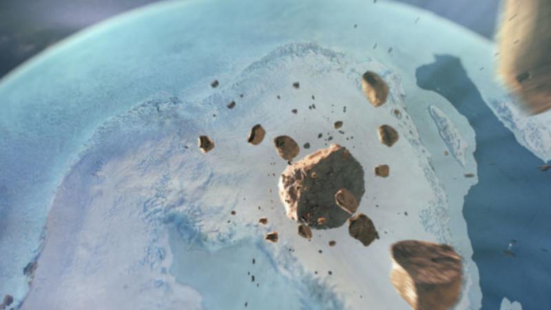 A misteriosa cratera que está por baixo da Gronelândia