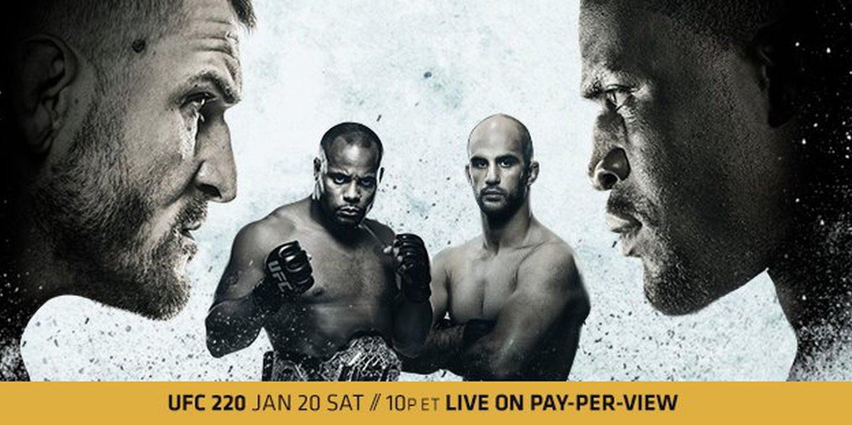 Antevisão UFC 220: Quem é o 'baddest man' do planeta? Reveja o direto