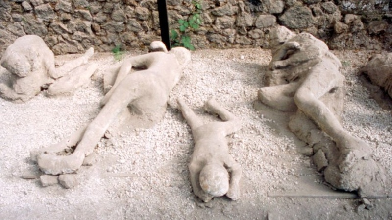 As novas descobertas macabras da tragédia do Vesúvio