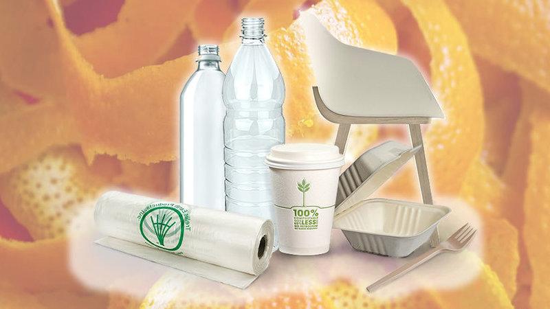 Bioplásticos a partir de resíduos de frutas são uma proposta sueca para eliminar o plástico