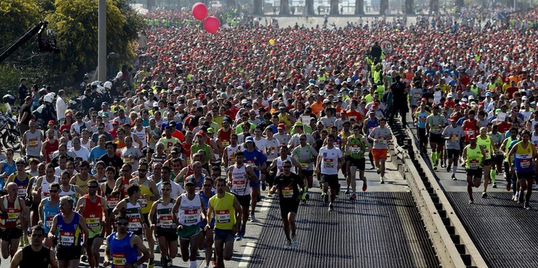 Meia maratona de Nova Deli vai realizar-se apesar da poluição