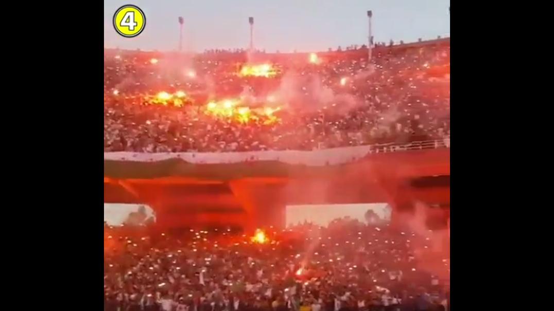 As incríveis imagens da festa da Argélia após vencer CAN