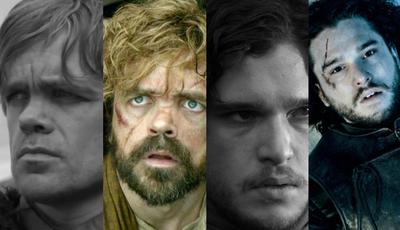 "O antes e depois dos atores de ""A Guerra dos Tronos"""