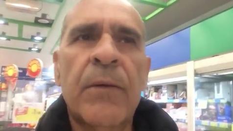 Cliente preso em supermercado de Braga