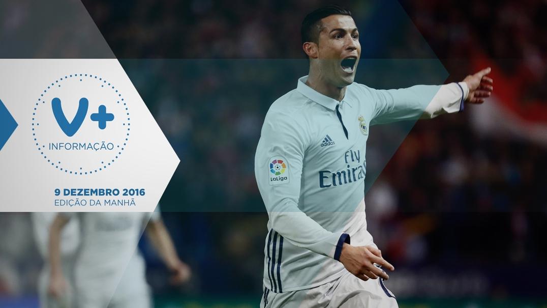 """Football Leaks"". Gestifute revela rendimentos de Ronaldo"