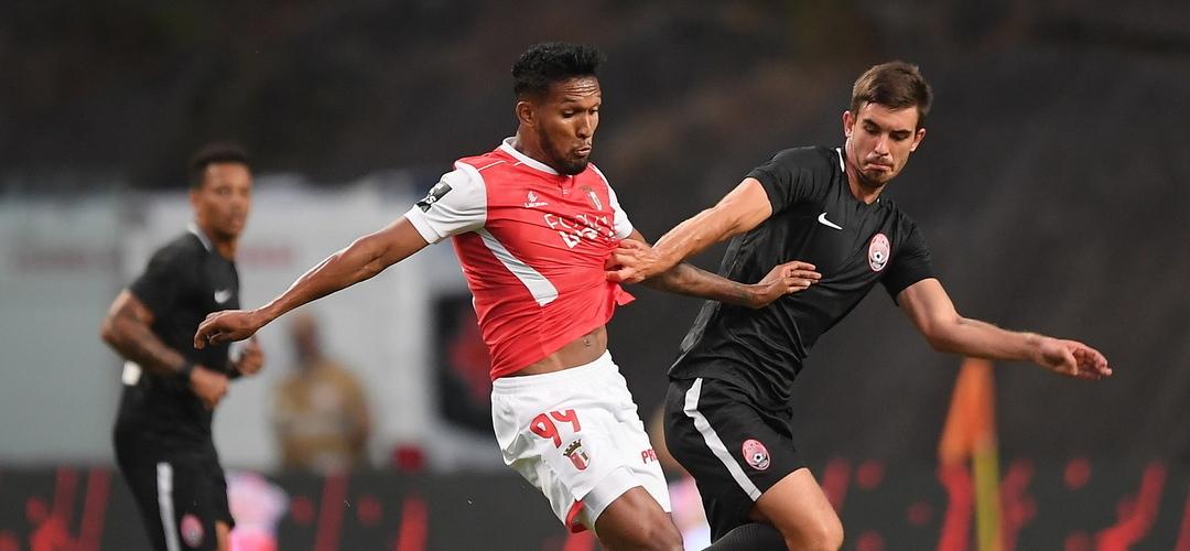 SC Braga empata, mas está fora da Liga Europa