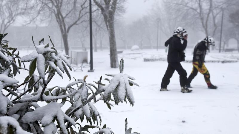 Mau tempo: IPMA eleva para laranja aviso para Guarda e Castelo Branco devido à neve