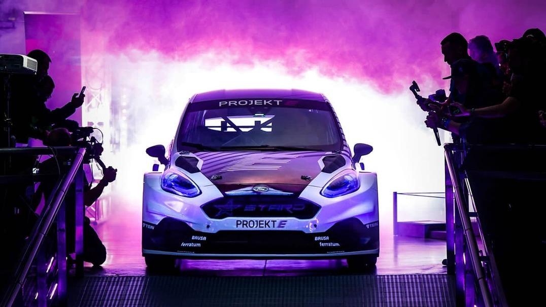Carro de Rally 100% elétrico da Ford é mais rápido do que qualquer Tesla, até o Roadster