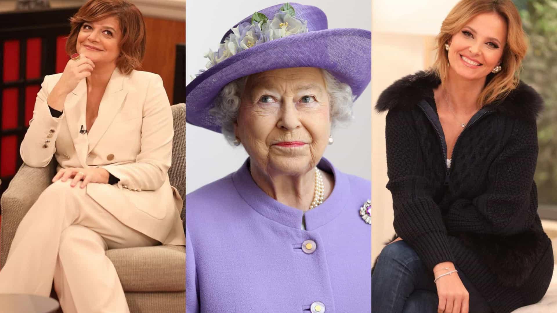 Júlia Pinheiro e Cristina Ferreira vão ao funeral da rainha Isabel II