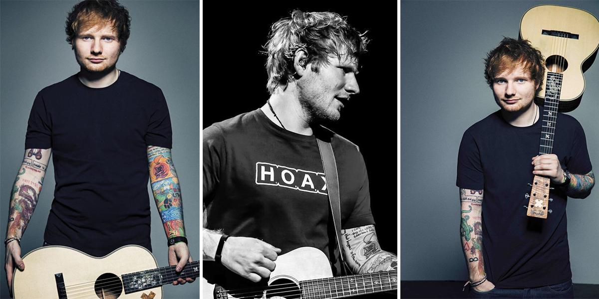 Ed Sheeran: o cantor britânico faz 27 anos