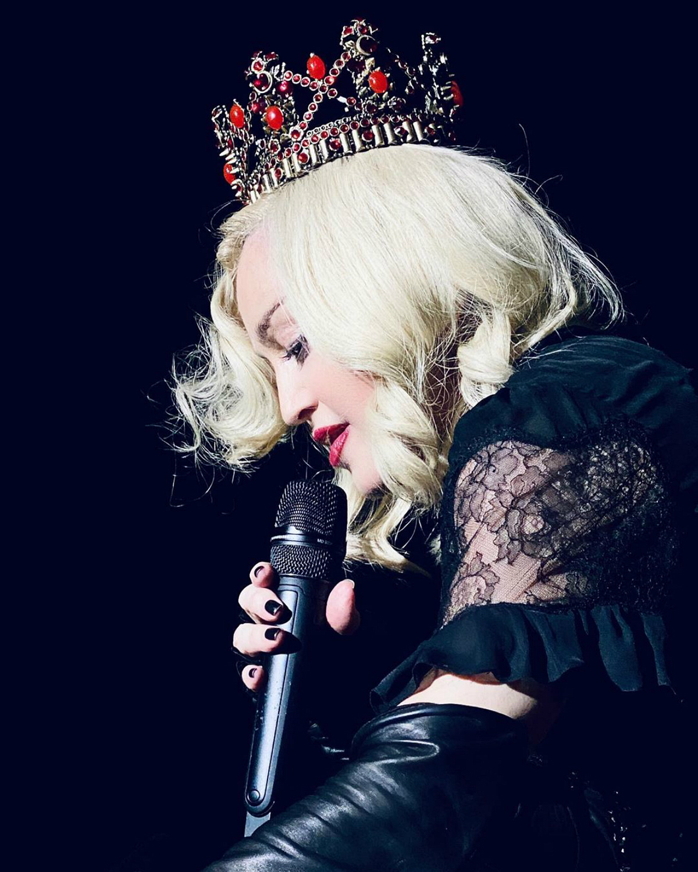 """Madonna regressa esta noite ao Coliseu dos Recreios e, mais uma vez, Donald Trump será um dos seus alvos em palco. """"É um sociopata"""""""