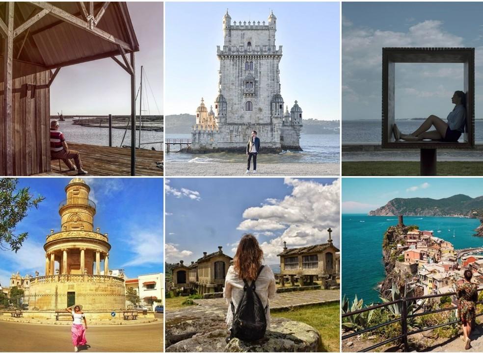 """Viagens de Instagram: """"Sempre chegamos ao sítio aonde nos esperam"""""""