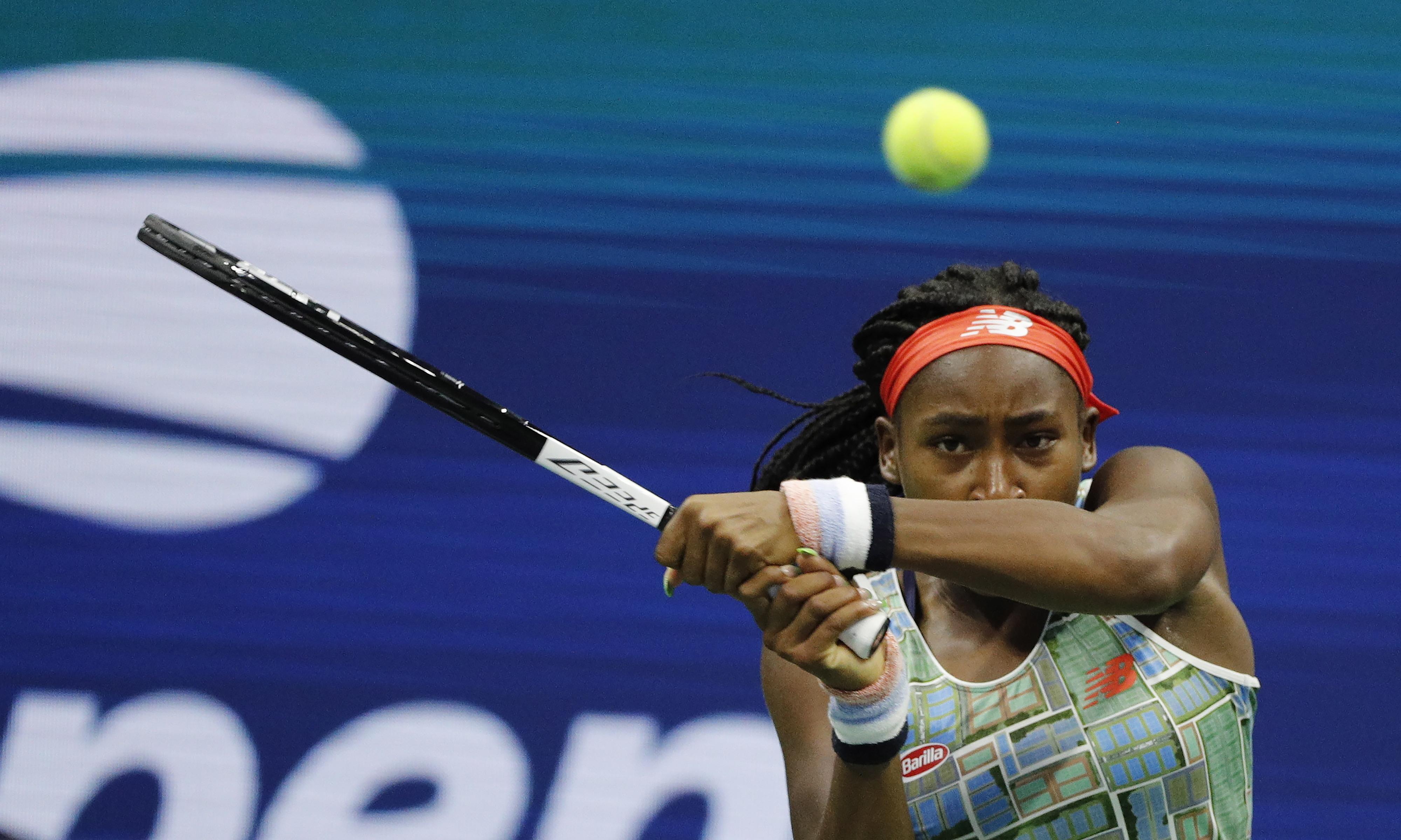 Coco Gauff vence primeiro torneio WTA aos 15 anos