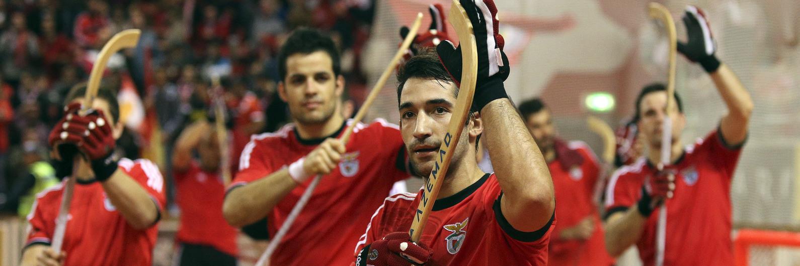 """Hóquei em patins: Capitão do Benfica """"orgulhoso"""" com boicote da equipa à Taça"""