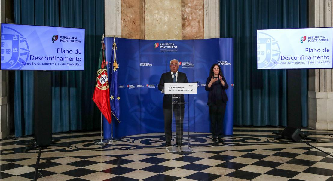 Desconfinamento: Conselho de Ministros reúne-se para aprovar medidas da nova fase da retoma