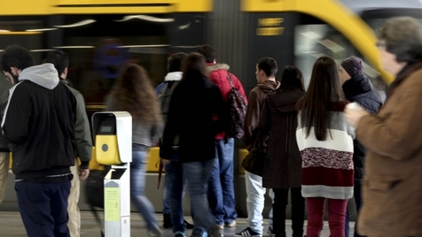 Paciência ao Metro