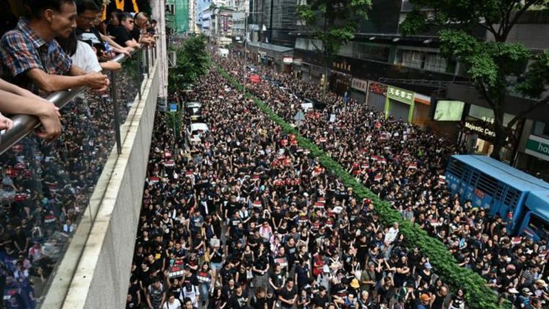 Hong Kong e a luta contra Pequim