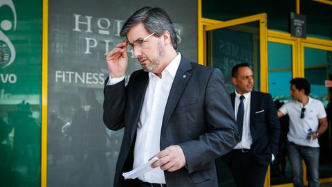 """Bruno de Carvalho: """"Não houve nem poderia haver qualquer ato de expulsão. É lógico que ainda sou presidente"""""""